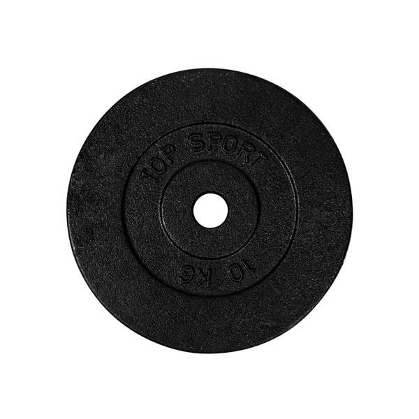 Bilde av Vektplate  Top Sport Castyr 10 kg