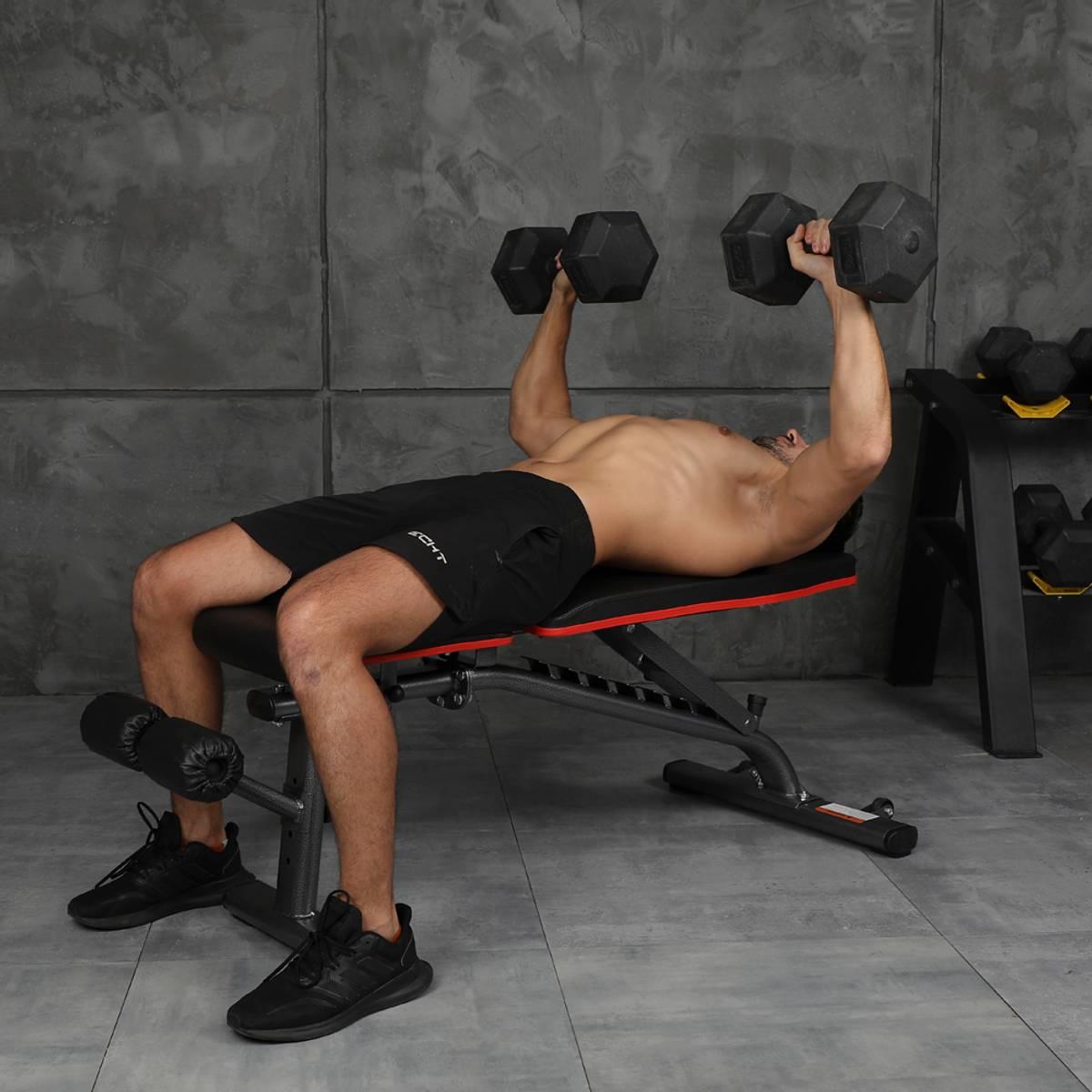 Justerbar treningsbenk inSPORTline AB055